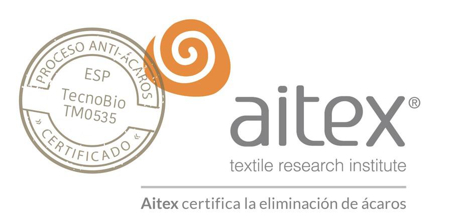 TecnoBio obtiene la Certificación Anti-Ácaros de AITEX