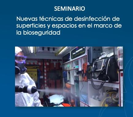Celebrado el primer seminario sobre BioSeguridad y Desinfección en Superficies, en Zaragoza