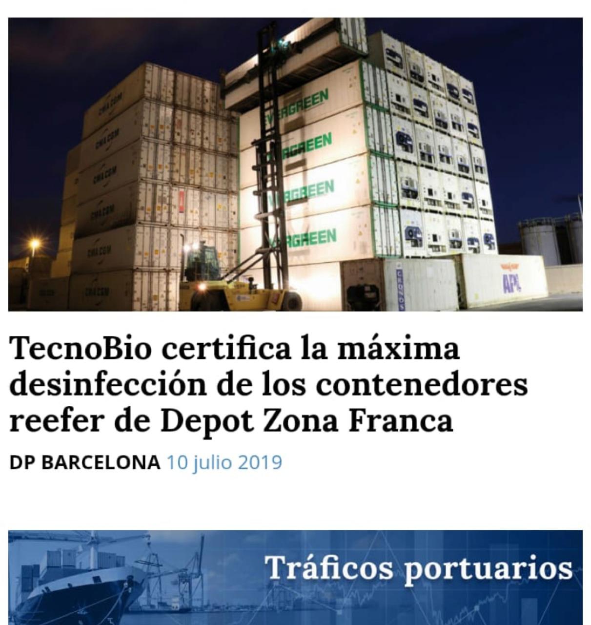 TecnoBio con la Bioseguridad de Depot Zona Franca