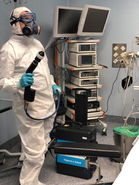 desinfeccion coronavirus hospitales