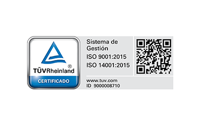 TÜV Rheinland. ISO 9001 y 14001