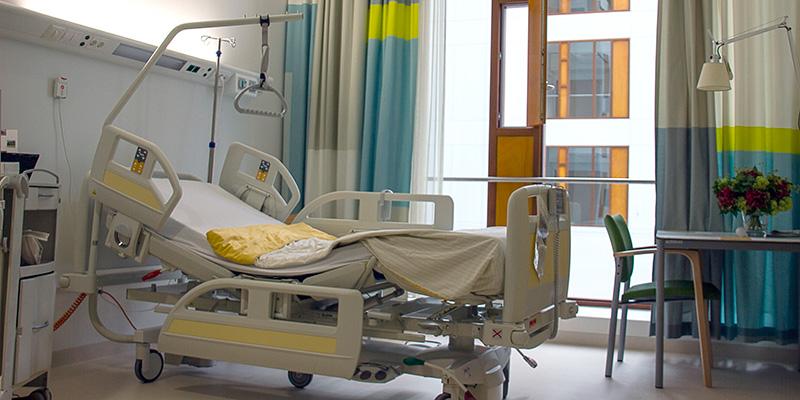 Desinfección de centros de salud y hospitales