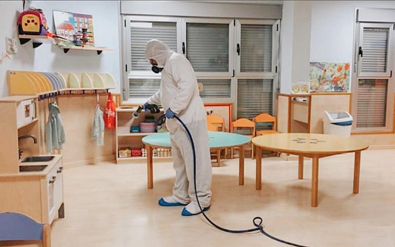 Desinfección de centros educativos: colegios, universidades, institutos y centros formativos