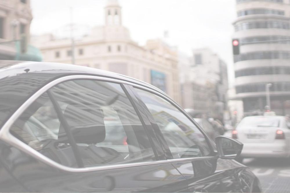 Desinfección de taxis y vehículos VTC