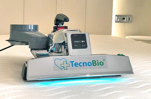 TecnoBio. Desinfección de ácaros