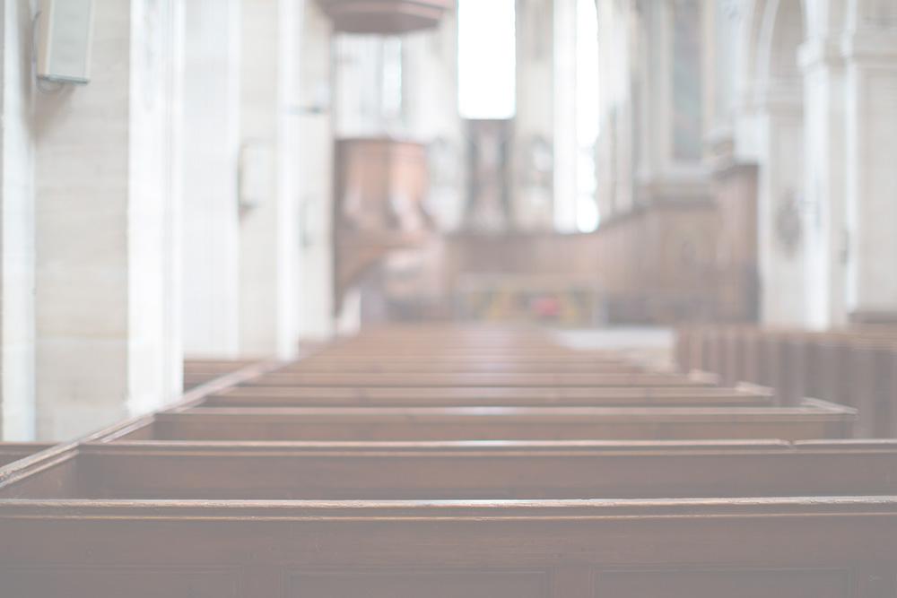 Desinfección de centros de culto e iglesias