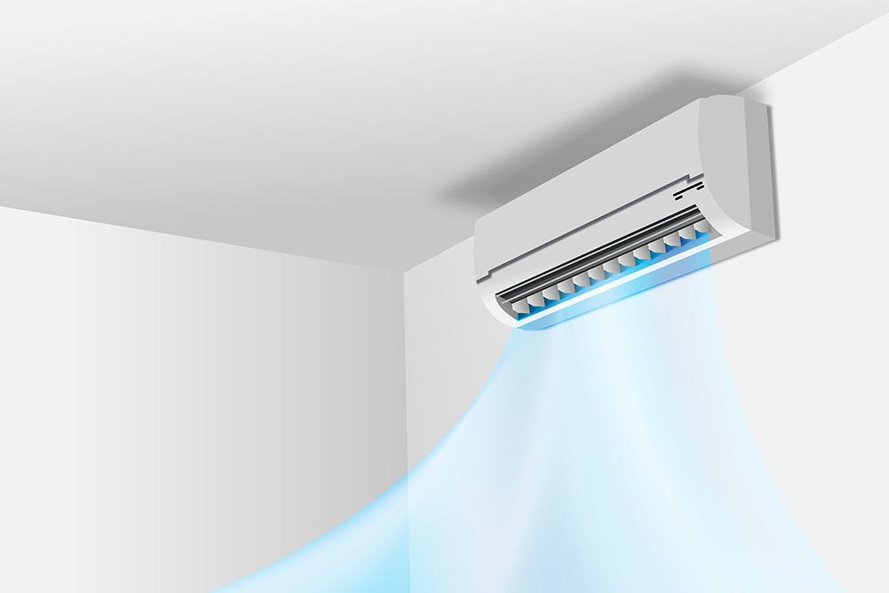Desinfección de equipos de aire acondicionado