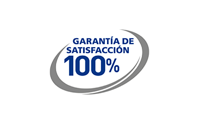 Garantía de satisfacción 100%